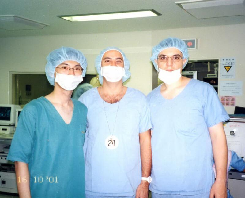 Stagiu de perfectionare in Spitalul Universitar Osaka, Japonia (2001)